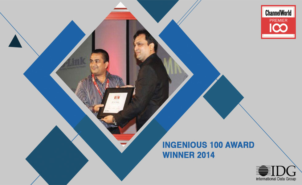 Winner of IDG Premier 100 Award